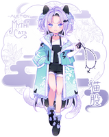 [CLOSED] ADOPT AUCTION - Nekomata by MiiaChuu