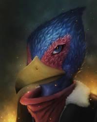 Falco Lombardi by Torqbow