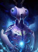 Celestial Conquest - Insectiod Lord by Torqbow