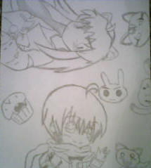 just some doodles, got bored, so by madddy123