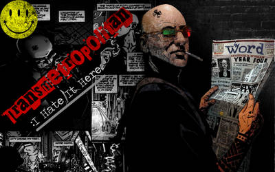 Transmetropolitan Wallpaper by Farathil