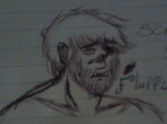 Scruffy dude by Flaring-Shadow-Moses