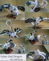 Cyber End Dragon papercraft by Emiliaputri