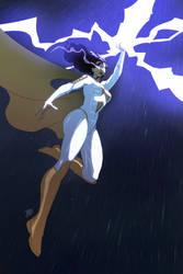 Thunder Woman by Joe Davis 2 by BSDigitalQ