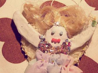 hand made angel by mollica