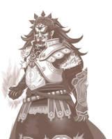 Demon King: Ganondorf by HolyLilium
