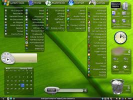Fabulous K II Desktop by D4Rk-PH0ENiX