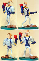 Handmade: Earthworm Jim by vitav