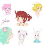 Girls, Gurls and Things by DafNyanko