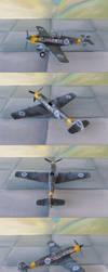 Messerschmitt Bf109E-4 by WKucza