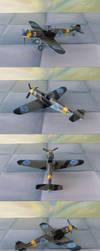 Bf109G-2 Ilmavoimat by WKucza
