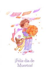 Dia de muertos by anakareninart