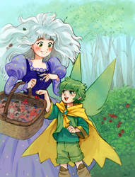 Lior y Albali by anakareninart