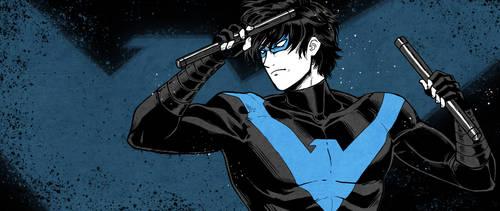 Nightwing by anakareninart
