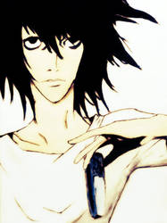 L Lawliet by demonic-hugger