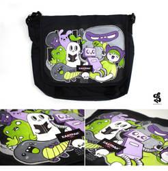Monstropolis bag by Bobsmade