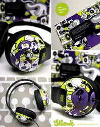Purple panda by Bobsmade