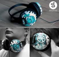 Nanis Headphones by Bobsmade