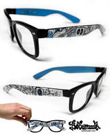 Ocean and music glasses by Bobsmade