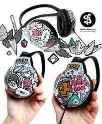 jacqueline headphones by Bobsmade