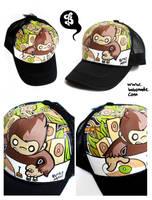 DJ Monkey by Bobsmade