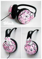 Candy Cat Headphones by Bobsmade