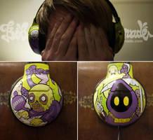 Grim Reapers Headphones by Bobsmade