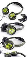Hockey Headphones by Bobsmade