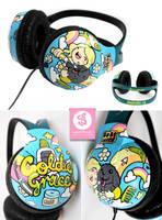 Goldie Grace headphones by Bobsmade