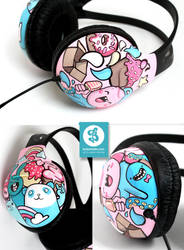 Out of the box headphones by Bobsmade