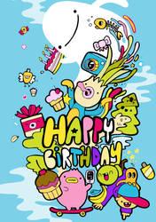 Bobsmade Birthday Card by Bobsmade