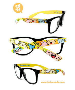 Furry Animals Glasses by Bobsmade