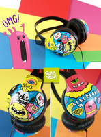 Electronic Headphones by Bobsmade