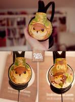Owl Headphones by Bobsmade
