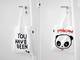 Panda Bag by Bobsmade