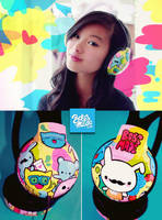 Party Pets Headphones by Bobsmade
