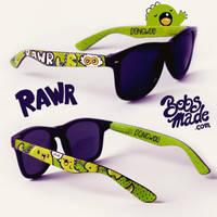 Dino Sunglasses by Bobsmade