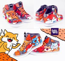 Fox sneaker by Bobsmade