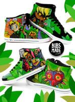 Majoras Mask Sneaker by Bobsmade