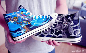 Dark Link Shoes by Bobsmade