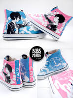 Persona 3 Shoes by Bobsmade