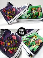 Manjoras MASK 3D Shoes by Bobsmade