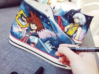 Kingdom Hearts Shoes by Bobsmade