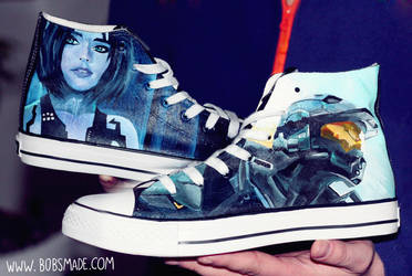 Halo Custom Shoes by Bobsmade