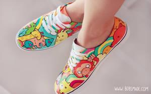 Rainbow Animals by Bobsmade