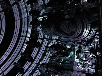 Mandelbox-TechnoTrouble by PrinceChartreuse