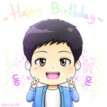 [B2ST] Happy Birthday Dongwoon~ by IperGiratina98