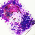 [B2ST] Purple Dongwoonie~ by IperGiratina98