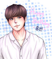 [VIXX] Happy Birthday Hongbin~ by IperGiratina98