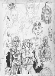 Sketchdump by Inkbust